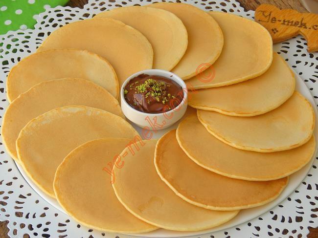 Pankek (Pancake) Resimli Tarifi - Yemek Tarifleri