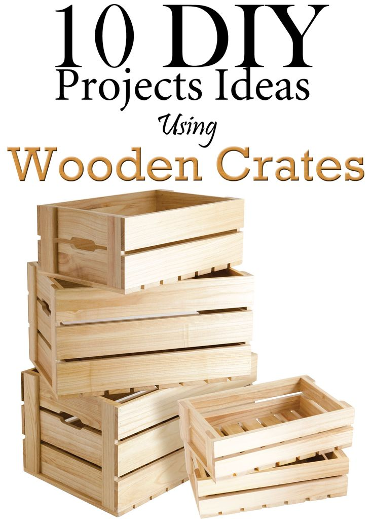 10 Diy Projects Ideas Using Wooden Crates Kastes Diy
