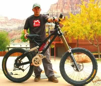 Benders monster bike