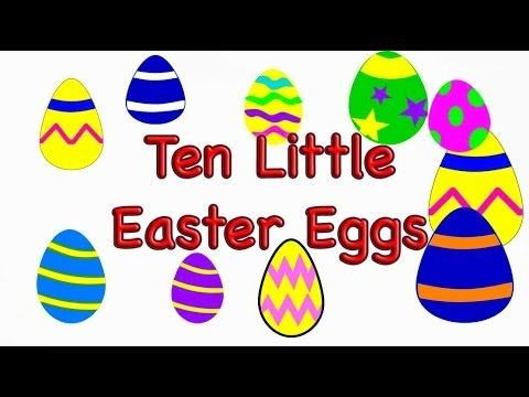 Easter Preschool Song -Ten Little Easter Eggs - LittleStoryBug