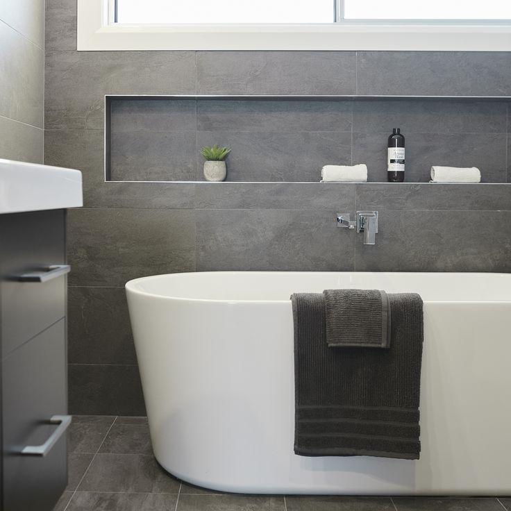 #bathtub #tiles #greyandwhite #relax #retreat #soaking