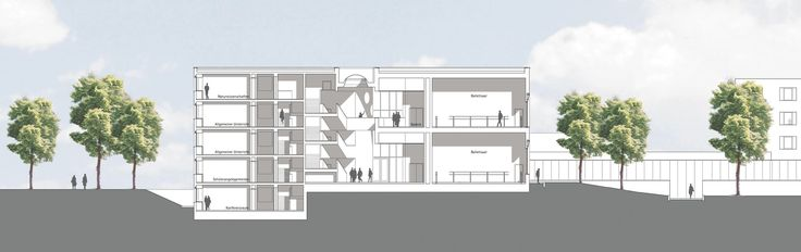 The overall architectural concept for the State School of Ballet and Artistry focuses on the special nature of the school, with its constant ebb and flow of ...