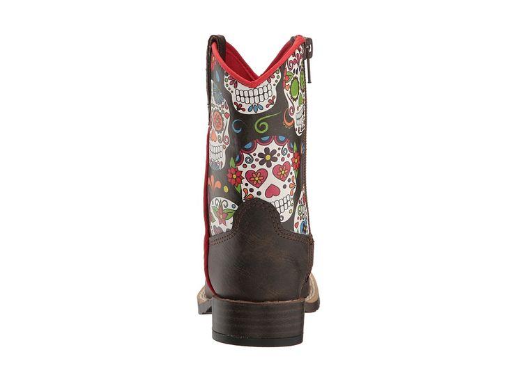 M&F Western Destiny (Toddler) Women's Rain Boots Brown