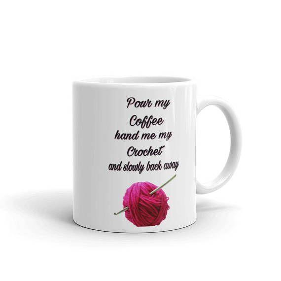#Crochet #coffee mug #coffee #lovers #gift #crochetcoffee https://www.etsy.com/listing/565271949/mug