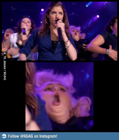I just died laughing...pitch perfect