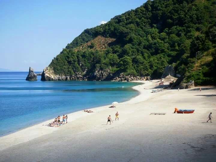 Agioi Saranta beach, Pelion, Greece