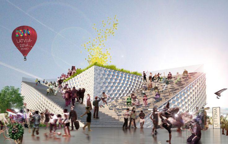 Milano expo 2015 Latvian Pavilion