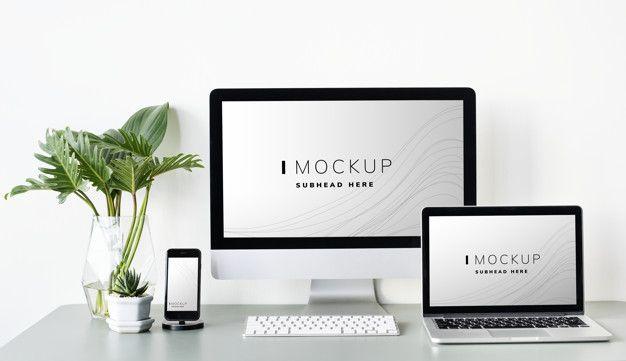 Download Set Of Digital Devices Screen Mockup For Free Computer Mockup Mockup Free Psd Mockup