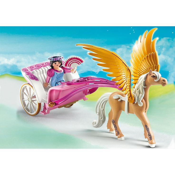 Playmobil Księżniczki Kareta pegaza, 5143, klocki