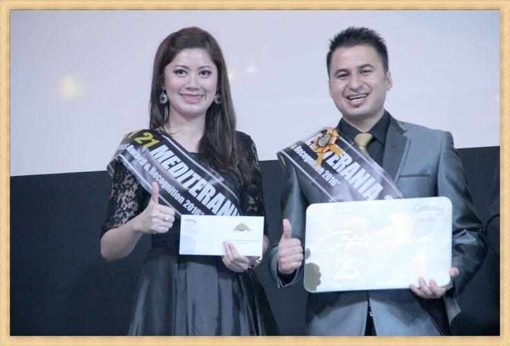 Pemenang Mr. Rameshor Singh& Miss. Neny Singh  Dalam Mr & Miss Century 21 Indonesia, Dream Team & Annual Award & Recognition 2016