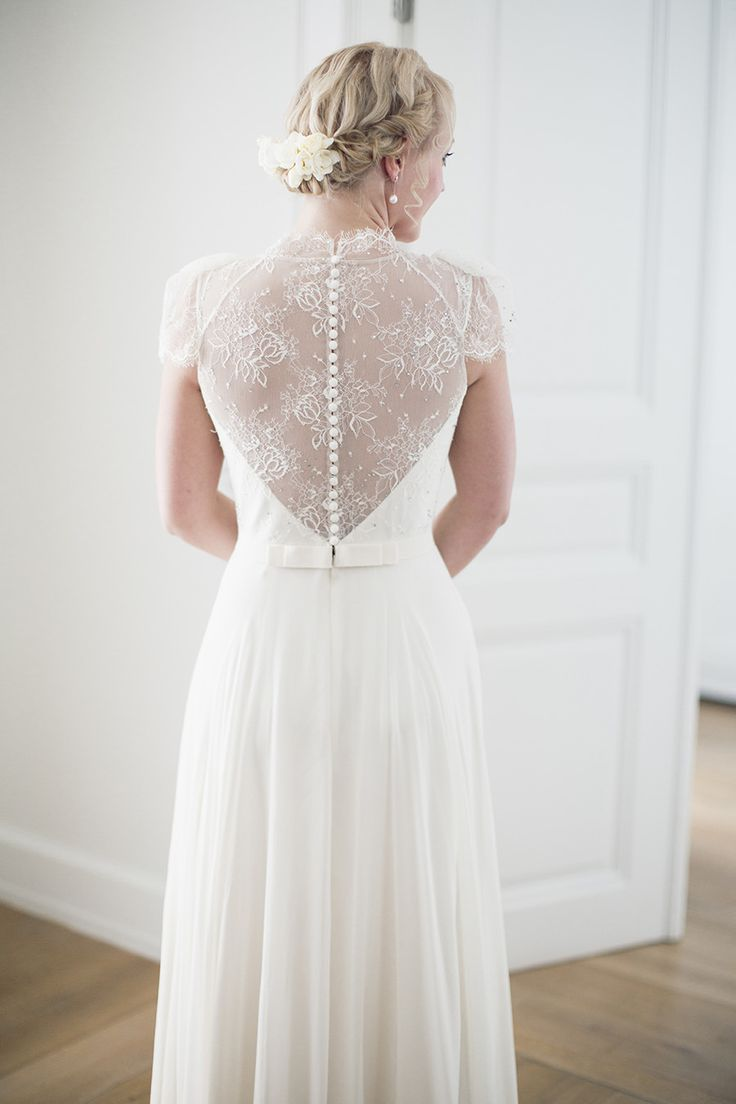Wedding Dress by Jenny Packham || See the wedding on Style Me Pretty: http://www.StyleMePretty.com/destination-weddings/2014/02/17/greece-wedding-at-the-poseidonion-grand-hotel/ Anna Roussos Photography