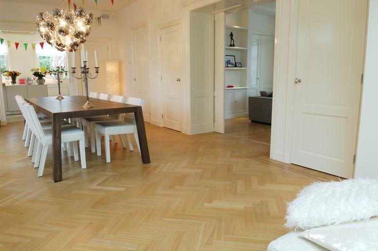 Visgraat vloer - duurzaam en voordelig | Martijn de Wit Vloeren