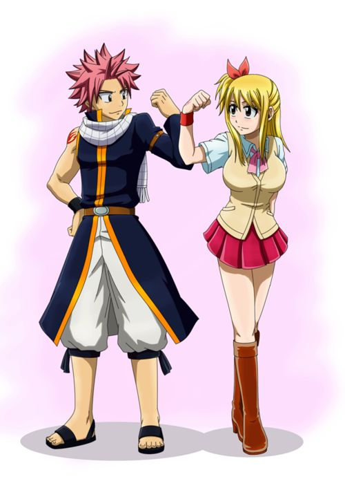 Natsu and Lucy from Fairytale!