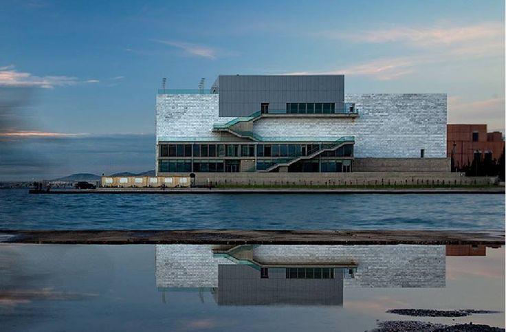φωτογραφία του νίκου γουλια μεγαρο μουσικής θεσσαλονικης.. κατασκευή αρχιτεκτονικό γραφειο νίκου γούλια