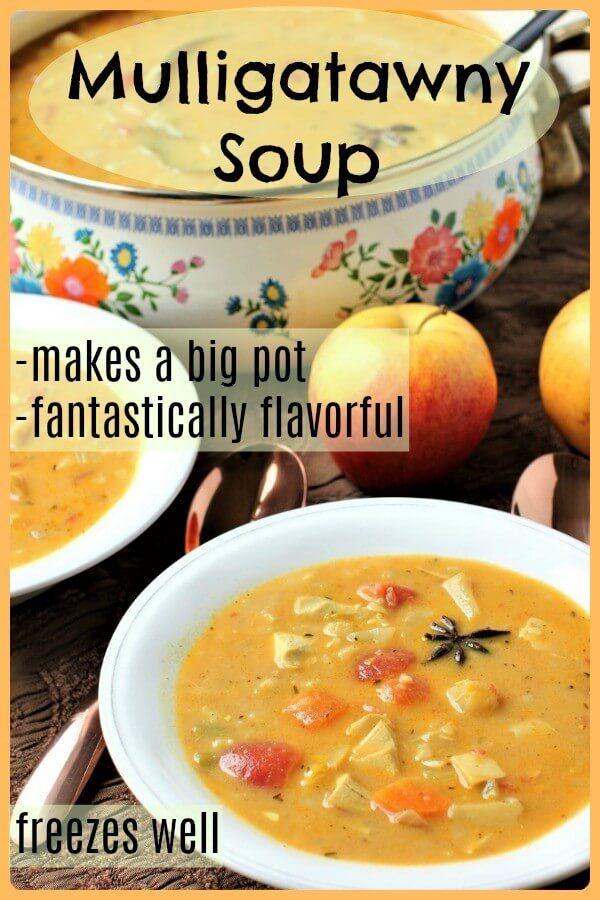 Mulligatawny Soup Spicy Creamy Dreamy Kitchen Frau In 2020 Mulligatawny Soup Maker Recipes Vegetarian Mulligatawny Soup Recipe