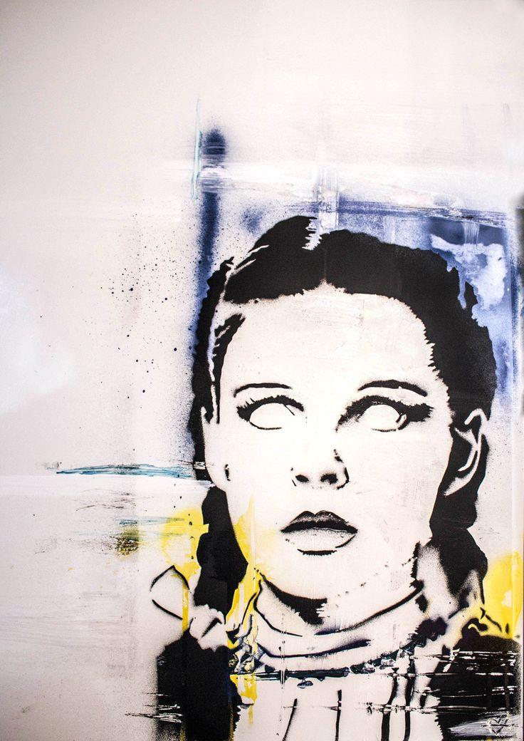 Chillage of OZ – Zombie Dorothy Art Print