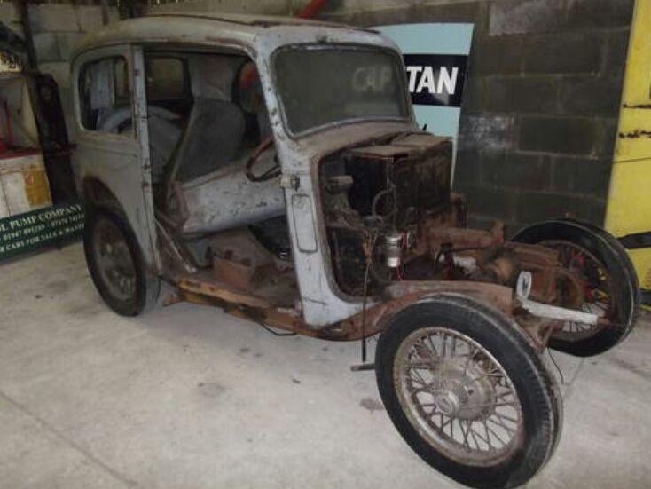 Start of my Austin 7 ruby restoration