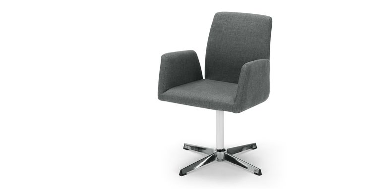 Grant Office Chair, Anchor Grey