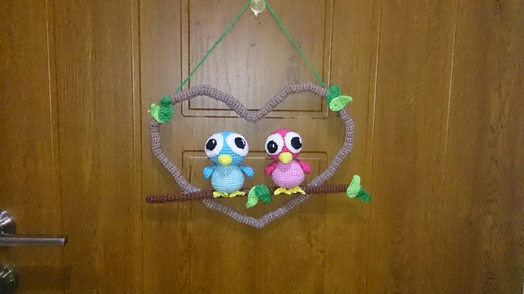 Hackovana dekoracia na dvere.  Insiracia najdena na internete.