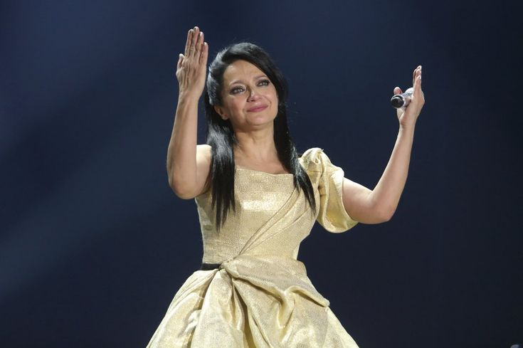 Lucie Bílá se na koncertě rozplakala.