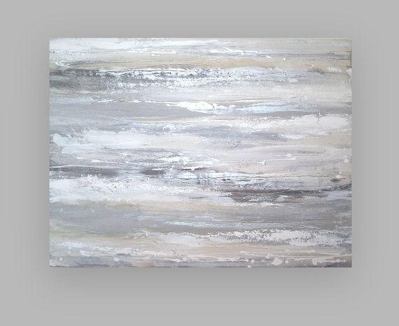 RESERVED. Original Acrylic Abstract Painting by OraBirenbaumArt, $265.00