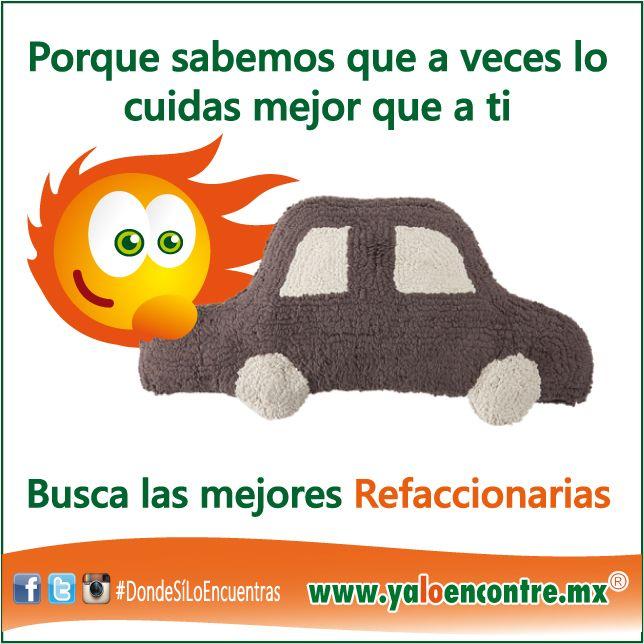 Sabemos como cuidas tu Auto #Servicios #Refaccionarias #Autos