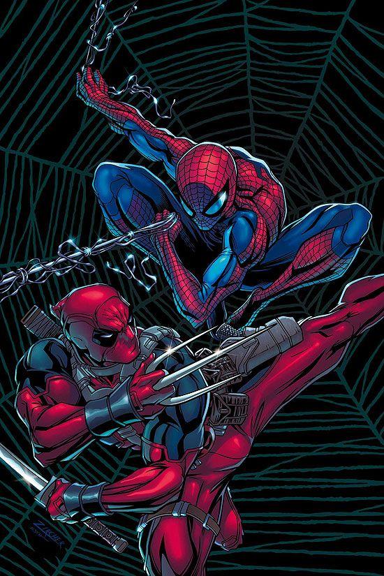 Deadpool VS Spiderman..................