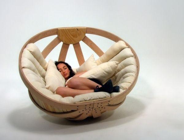 Schlafzimmer Möbelstück Schaukel-Bett