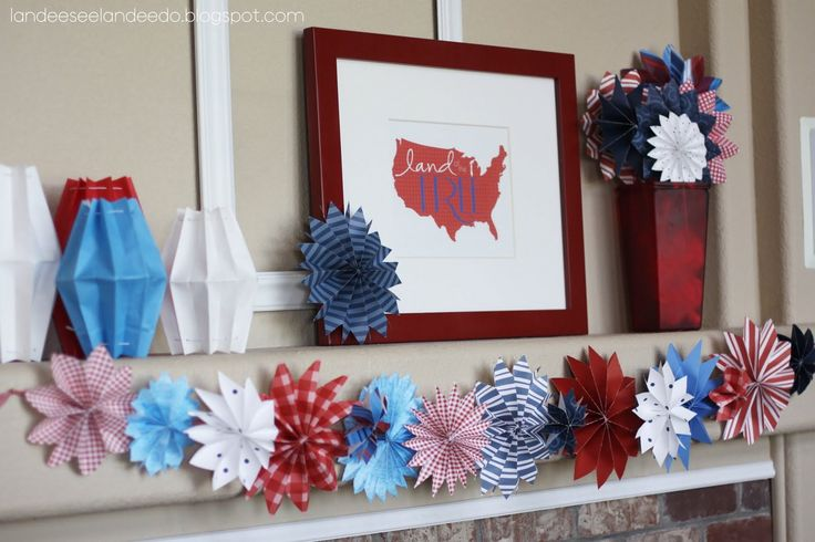 As I am trying to put together my 4th of July mantel this year (yay! one of my favorite holidays to decorate for!) I realized I never posted this on my own blog last year!  This was done as a contributor post over on I Heart Naptime.     I  loved making these cute paperContinue Reading →