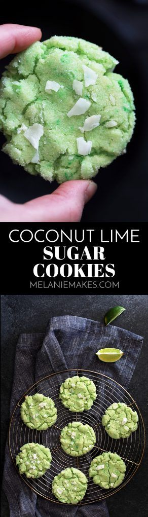 These Coconut Lime Sugar Cookies pack a bright citrus punch thanks to a quick kitchen shortcut. Sparkling with sugar and studded with coconut flakes, these cookies are definitely a welcome sign of spring.