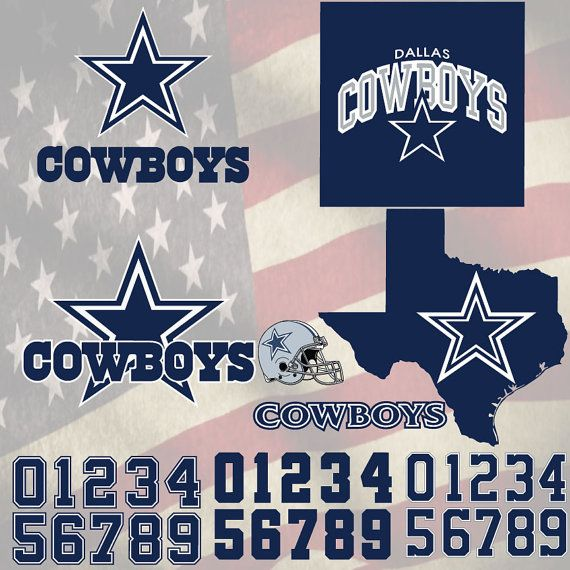Dallas Cowboys Football logo svg, digital download, SVG, DXF,EPS,Pdf for use with Cameo, Silhouette and Cricut Die Cutting Machines