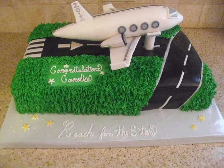 Airplane Adult Birthday Cakes