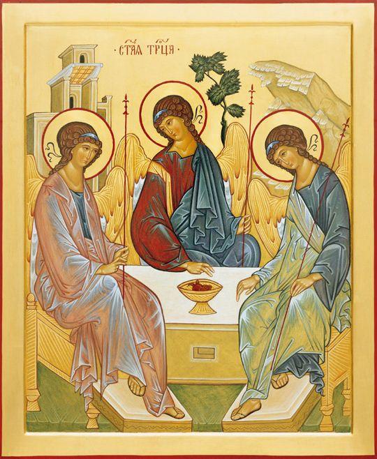 La Santa Trinità dell'Antico Testamento (Andrej Rublev) - Giuliano Melzi - Picasa Web Albums