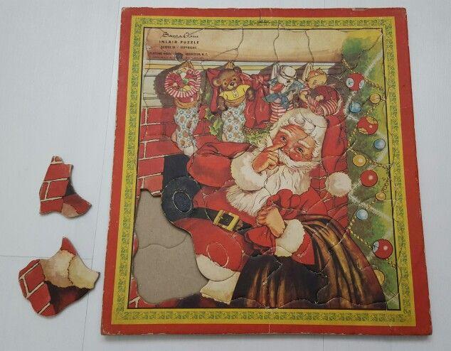 Kerstpuzzel 50er jaren