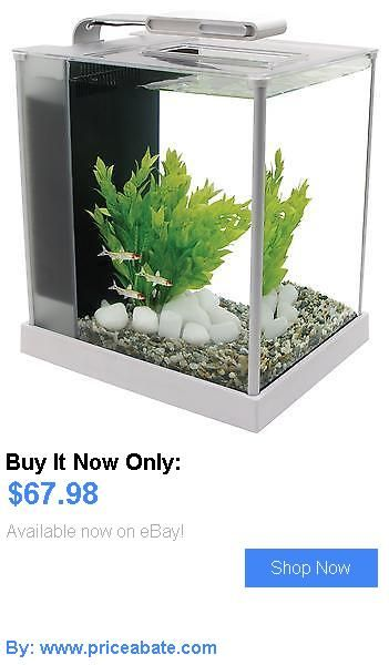 Animals Fish And Aquariums: Fluval Spec Iii Desktop Glass Aquarium - White - 2.6 Gallon BUY IT NOW ONLY: $67.98 #priceabateAnimalsFishAndAquariums OR #priceabate