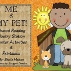 This is a poem I use during our shared reading time. I write the poem on sentence strips, put it in a pocket chart and use it for the week. After t...