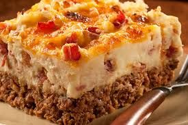 Ingredients:  1 package Ore-Ida® Steam n' Mash® Cut Russet Potatoes  1 pound ground lean meat (beef or turkey)  3/4 cup onion, finely chopped  1/3 cup seasoned bread crumbs  1/4 cup Jack Daniel's® Barbecue Sauce, Honey Smokehouse™  1 egg lightly beaten  2 teaspoons