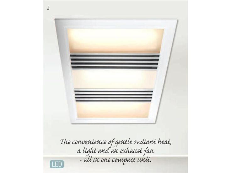Tempair 3 In 1 Bathroom Heater And Exhaust Fan With LED Light In White. Best 25  Bathroom heater ideas on Pinterest   Diy bathroom fitting