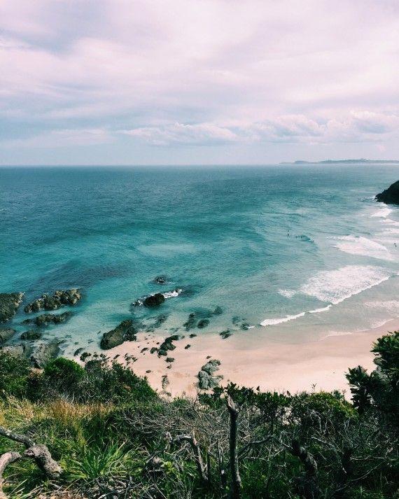 Australia byron bay - white beach