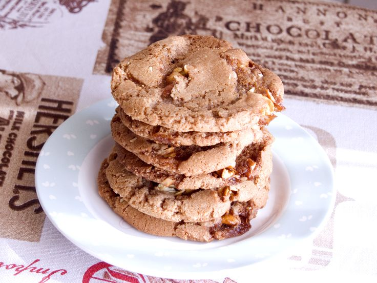 Sweet, crunchy and chewy is the best way to describe these nutty brittle cookies. They're addictive and so yummy! These cookies actually ended up being a happy accident. My initial intention …