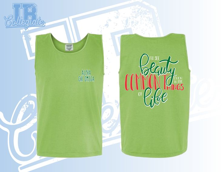 Alpha Chi Omega | Alpha Chi | Alpha Chi O | Alpha Chi Omega Design | Alpha Chi Omega Shirt | See the Beauty even in the Common Things of Life | Greek Life | Greek Life Apparel | Greek Life Shirts | Greek Apparel | Greek Designs | Sorority Designs | Sorority Apparel | Custom Greek Apparel | Custom Sorority Apparel | Custom Tshirts | Custom Tshirt Design | IB Collegiate | www.ibcollegiate.com