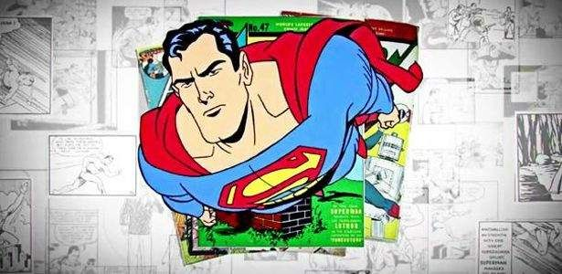 """O curta de animação, a seguir, foi criado por Zack Snyder e Bruce Timm para celebrar as diversas alterações que Superman sofreu ao longo de seus 75 anos. O vídeo será incluído no Blu-Ray de Homem de Aço e está sensacional! Clique em Leia Mais para assistir! """"A ideia era começar com Siegel e Shuster …"""