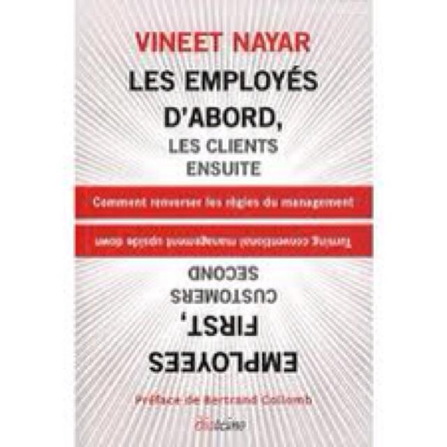 Mon coup de foudre de l'année : Vineet Nayar réinvente les règles du management. A la fois simple et puissant : un régal !