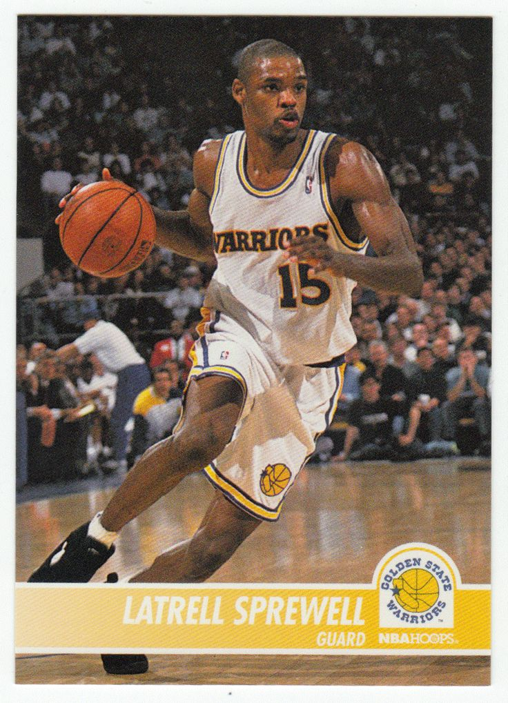 Latrell Sprewell # 70 - 1994-95 Skybox Hoops Basketball