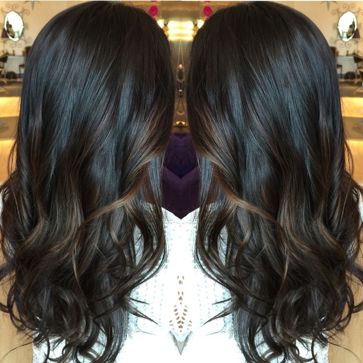 Balayage Brunette Haircolor.   By Denise Suttlemyre @Xquisite Salon&Spa