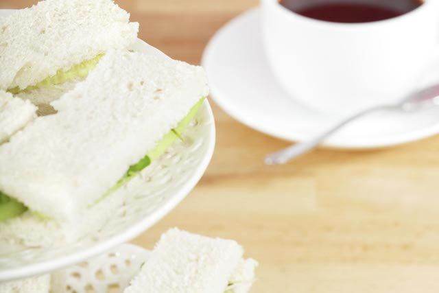 How to Make Cucumber Sandwiches for Afternoon Tea