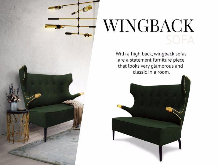 How To Pick The Type Of Modern Sofas That Works Better For You   Velvet Sofa. Wingback Sofa. Living Room Ideas. Read more: http://modernsofas.eu/2017/05/03/pick-type-modern-sofas-works-better/