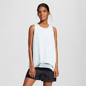 Women's Split Back Tank - Who What Wear : Target