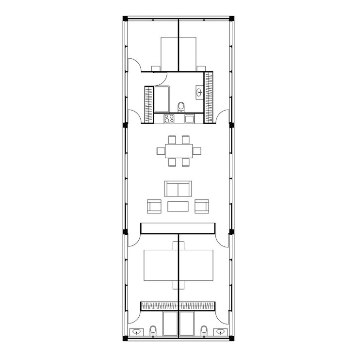 Les 54 meilleures images propos de plan petite maison for Plan maison minimaliste