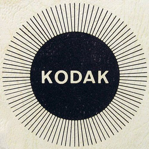 """Kodak - one of the all-time classic """"empty vessel"""" names, a name created to actually be just a name, to function as a tool. And it performed beautifully. Too bad they didn't keep up with that whole kooky """"digital"""" thing, though..."""